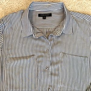Banana Republic Parker Tunic button up large